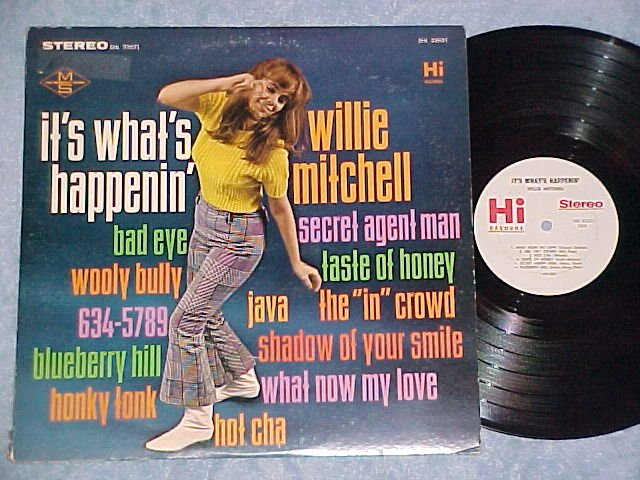WILLIE MITCHELL--IT'S WHAT'S HAPPENIN'-VG++/VG+ 1966 LP