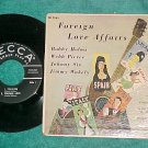 EPw/PS-FOREIGN LOVE AFFAIRS-4 Country Artists-'57-Decca