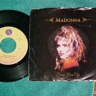 45 w/PS--MADONNA--DRESS YOU UP--1984--Sire--NM/VG+