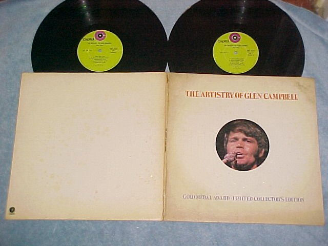THE ARTISTRY OF GLEN CAMPBELL--Ltd. Ed. 1972 Double LP