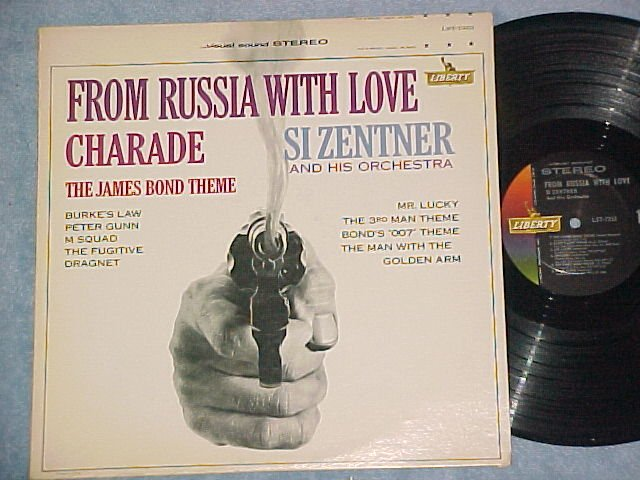 FROM RUSSIA WITH LOVE--NM/VG++ Stereo Si Zentner Sdk LP