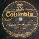 78-FRANK HARRIS--MY DREAM OF THE BIG PARADE--Col. 666-D