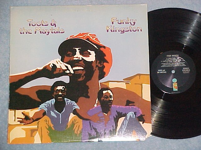 TOOTS AND THE MAYTALS-FUNKY KINGSTON--NM/VG++ LP-Island