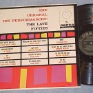 ORIGINAL HIT PERFORMANCES--LATE FIFTIES--LP--Bill Haley