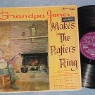 GRANDPA JONES MAKES THE RAFTERS RING-VG++/VG+ '62 UK LP