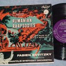 "ENESCO--RUMANIAN RHAPSODIES--10"" NM/VG+ 1953 Capitol LP"