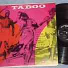 TABOO--NM/VG+ 1959 LP-Native African Music-Riviera--#1
