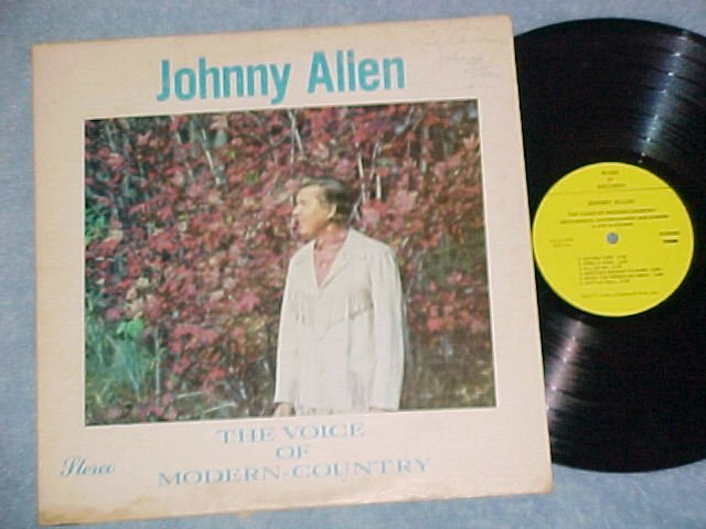 JOHNNY ALLEN-THE VOICE OF MODERN COUNTRY--LP--Autograph