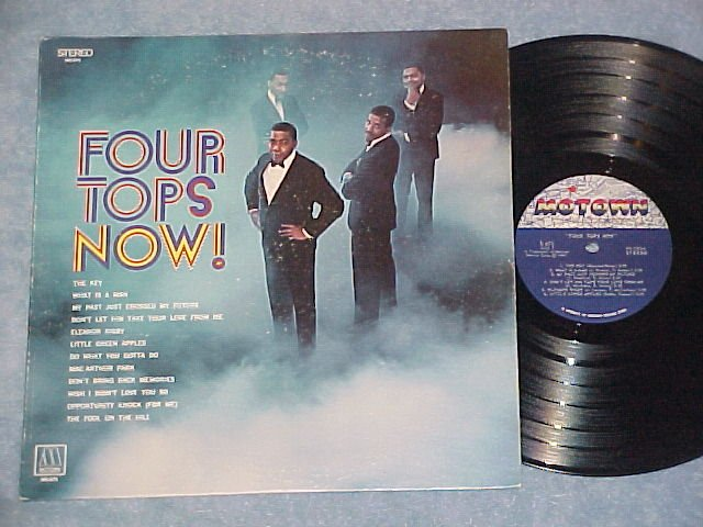 4 FOUR TOPS NOW--VG++ Stereo 1969 LP--Motown S-675