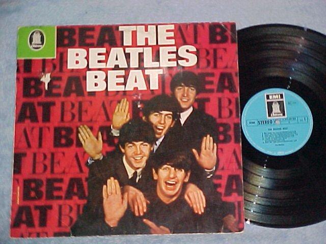 THE BEATLES BEAT--1969 Germany LP--Odeon 1C-072-04-363