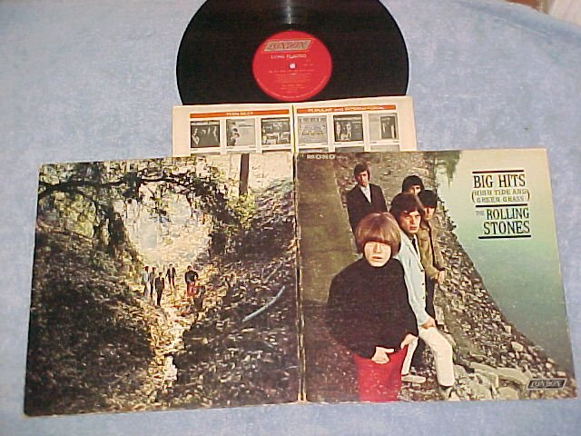 ROLLING STONES-BIG HITS (HIGH TIDE AND GREEN GRASS)--LP