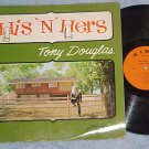 TONY DOUGLAS--HIS AND HERS--VG++/VG 1964 LP--Sims 121