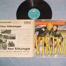 THE VIKINGS--Stereo 1959 Soundtrack LP--Kirk Douglas