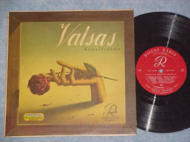 "VALSAS BRASILEIRAS--10"" VG++ 1954 Brazil LP--Radio Orch"