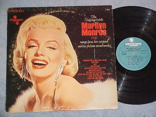 THE UNFORGETTABLE MARILYN MONROE--1967 LP ~Cheesecake~
