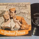 "THE STUDENT PRINCE--10"" 1949 LP--First Mercury LP ever"