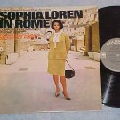 SOPHIA LOREN IN ROME--VG/VG+ 1964 TV Sdk LP--John Barry