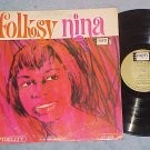 NINA SIMONE--FOLKSY NINA--1964 LP--Colpix CP-465