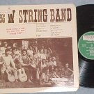F & W STRING BAND-s/t 1969 Private Vermont LP-F & W lbl