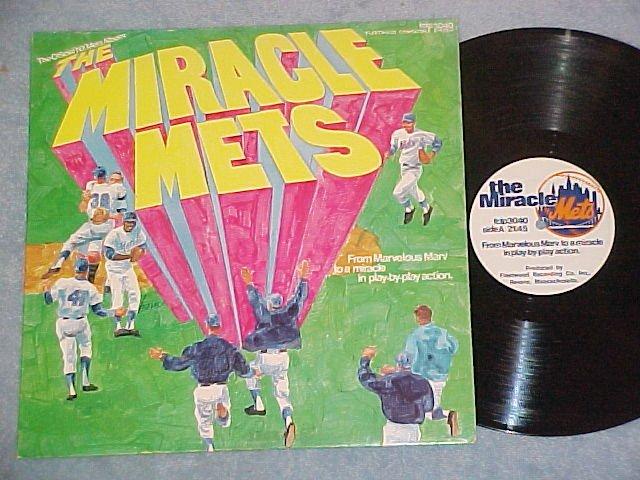 THE MIRACLE METS--NM 1969 LP--World Series Winners