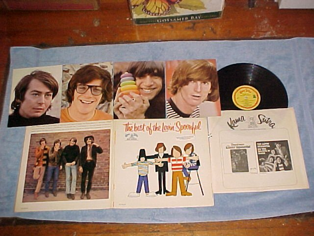THE BEST OF THE LOVIN' SPOONFUL--1967 LP w/4 Pictures
