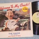 ALEN ROBIN/MAYOR ED KOCH--WELCOME TO MY COUCH!--1984 LP
