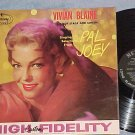 VIVIAN BLAINE--PAL JOEY/ANNIE GET YOUR GUN--NM 1958 LP