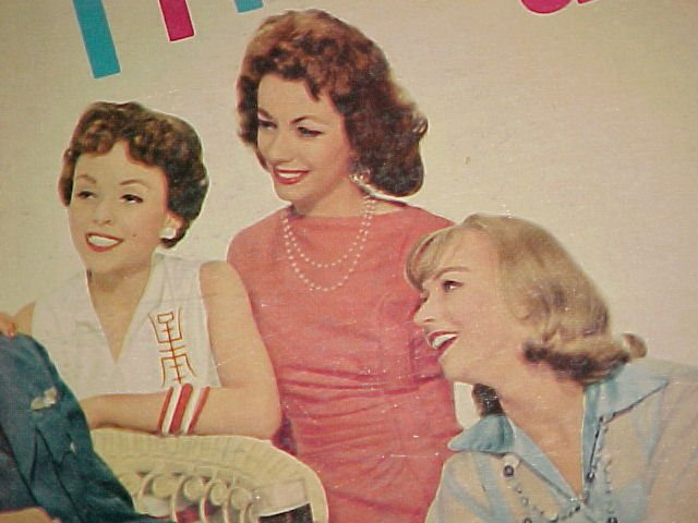 ANDY SANNELLA-THE GIRL FRIENDS-1958 LP on Everest ~Sexy