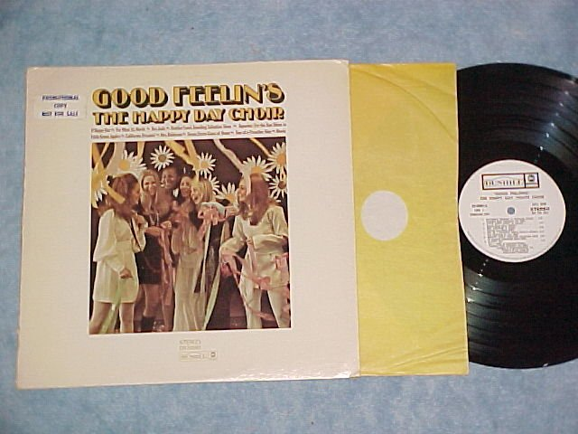 THE HAPPY DAY CHOIR--GOOD FEELINGS--NM/VG+ WL Promo LP