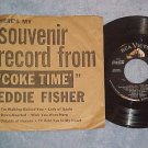 EP w/PS-EDDIE FISHER COKE TIME-RCA 6144-Drink Coca-Cola