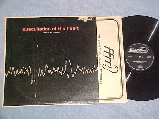 AUSCULTATION OF THE HEART-1964 LP-Rcdgs of Heart Sounds