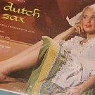 CEES VERSCHOOR--DUTCH SAX--NM/VG+ 1957 LP ~Cheesecake~