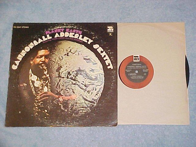 CANNONBALL ADDERLEY SEXTET-PLANET EARTH-VG++/VG 1969 LP