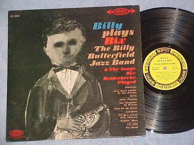 BILLY (BUTTERFIELD) PLAYS BIX (BEIDERBECKE)--NM/VG++ LP