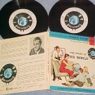 Dbl LLP/EP w/PS/Booklet-LOWELL THOMAS-STORY OF MR WORLD
