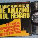 THE MANY KEYBOARDS OF THE AMAZING PAUL RENARD-Stereo LP
