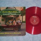 ANSON WEEKS-DANCIN WITH ANSON-1958 Red Vinyl LP-Fantasy