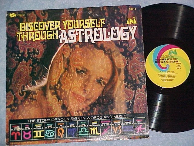 DISCOVER YOURSELF THROUGH ASTROLOGY-NM/VG++ 1967 LP-Uni