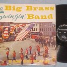 ELKHART MILITARY MARCHING BAND-BIG BRASS--1959 Crown LP