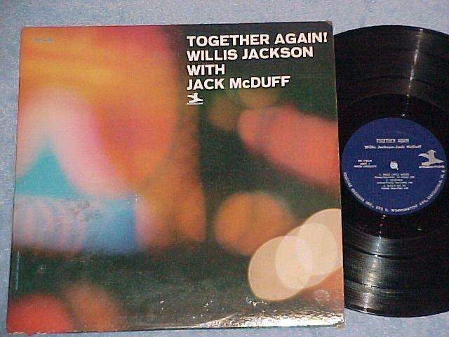 WILLIS JACKSON WITH JACK McDUFF-TOGETHER AGAIN!-1965 LP
