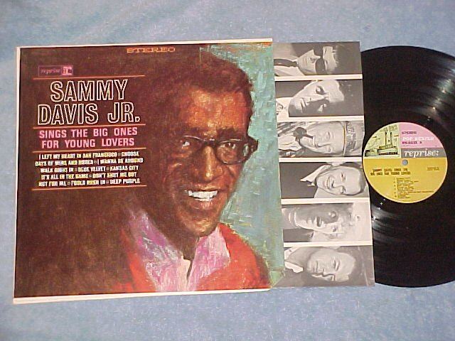 SAMMY DAVIS JR. SINGS THE BIG ONES FOR YOUNG LOVERS--LP