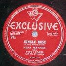 78--HERB JEFFRIES--JUNGLE ROSE--1946--Exclusive 29x--VG