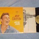 ANDY GRIFFITH--JUST FOR LAUGHS--VG++ 1960 Star Line LP