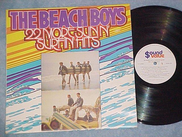 BEACH BOYS--22 MORE SUN N' SURFIN' HITS--New Zealand LP