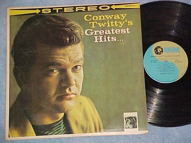 CONWAY TWITTY'S GREATEST HITS--MGM/RCA Music Service LP
