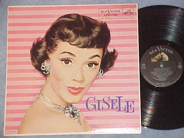 GISELE MacKENZIE--GISELE--VG++ 1958 LP--RCA LPM-1790
