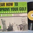 HEAR HOW TO IMPROVE YOUR GOLF--NM/VG++ 1960 Carlton LP