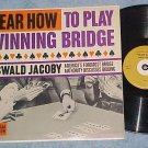 HEAR HOW TO PLAY WINNING BRIDGE-NM Mono 1960 Carlton LP