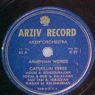 Armenian 78-ARZIV ORCHESTRA--CATSKILLIN YERKE--Arziv 62