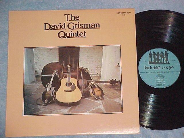 THE DAVID GRISMAN QUINTET--NM/VG++ 1977 LP-Kaleidoscope